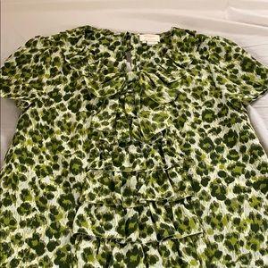 Kate Spade Leopard Print Blouse